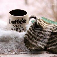 чашка кофе зимним утром :: Юлия Люлькина