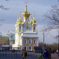 Осенью в Петергофе :: Юлия Емелина