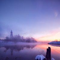 Синим утром... :: Roman Lunin