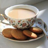 Утреннее кофе с молоком :: Юлия Семашко