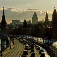Прогулки по Москве :: Алексей Некрасов