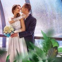 Свадьба на мосту Багратион :: Александр Шелухин