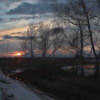 Апрельский вечер. :: Kassen Kussulbaev