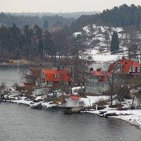 Стокгольмский архипелаг. Март :: Юрий Цыплятников