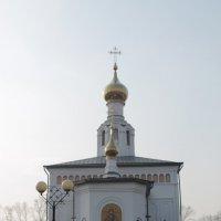 Церковь  вид сзади :: NюRа;-) Ковылина
