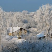 Ах , белая зима ... :: Михаил Юрин