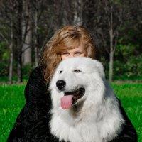 Дама с собачкой....... :: Юрий Белов