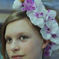 Примерка образа Весны :: Юлия Емелина