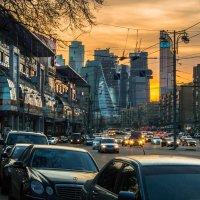 #Большая Дорогомиловская #Площадь Киевского вокзала :: Максим Коротовских