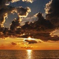 Банальный морской закат, каких миллионы.. :: Peiper ///