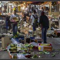 Рынок Шук Кармель - Тель-Авивие-Конец дня :: Shmual Hava Retro