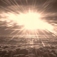 Восход на высоте 12 000 :: Александр Беляков