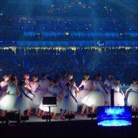 Танец снежинок на открытии Паралимпийских игр в Сочи :: Татьяна Копосова