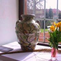 Выставка  ваз из фаянса :: Lana Kasiková