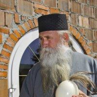Отец Афанасий, настоятель православного мужского монастыря в Уйковице, Южная Польша :: Носов Юрий