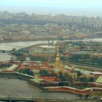 Вид на Петропавловку 2014 Хелидрайв :: Ксения Бондарь