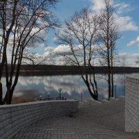 Лестница  к Неве. Автор  Натан. :: Фотогруппа Весна.