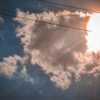Пламенное небо :: Леонид Туваев