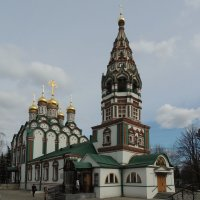 Церковь Николая Чудотворца в Хамовниках :: Александр Качалин