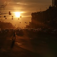 Городской закат :: Павел Myth Буканов