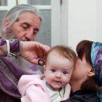 Крещение маленькой Марии... :: Детский и семейный фотограф Владимир Кот