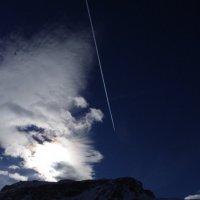 Облака как дым от вулкана. :: Serb