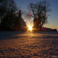 Восход солнца. :: Анатолий Борисов