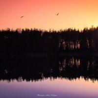 озеро Пятачок закат :: Мисак Каладжян
