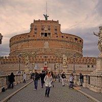 Замок Святого Ангела в Риме :: Лидия Цапко