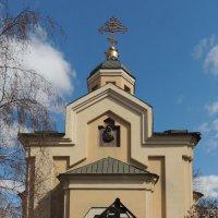 Храм-часовня Ольги Равноапостольной за Серпуховскими воротами :: Александр Качалин