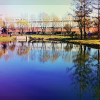 Россия, Санкт-Петербург, парк имени 9-го Января :: Валентина Потулова