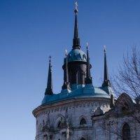 Церковь Владимирской иконы божей матери :: Ольга Серебренникова