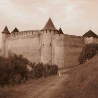 Хотинская крепость :: Андрей Зелёный