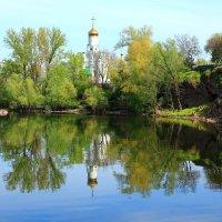Церковь на острове :: Иван Лазаренко