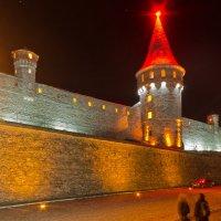Каменец-Подольский. Старая крепость ночью. :: Александр Крупский