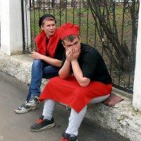 Поварята на перекуре :: Валерий Викторович РОГАНОВ-АРЫССКИЙ