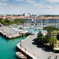 Вид на порт Ля Рошель, Франция :: Ирина Кеннинг