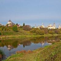Торжок. Вид на Борисоглебский Новоторжский монастырь :: Galina
