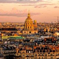 Закат над Парижем. :: Галина