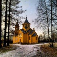 Лисино-Корпус .Церковь Николая Бенуа. :: Наталья Левина