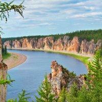 Река Амга :: Борис Винокуров