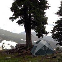 Дождь в лагере :: Сергей Карцев