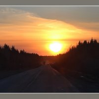 В догонку за солнцем... :: Наталья Юрова