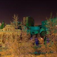 Ночной вид из окна, Новосибирский театр Кукол :: Дмитрий Кучеров
