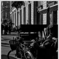 Уличное кафе :: Станислав Лебединский