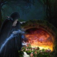 Ведьма :: Tatsiana Dukhovich
