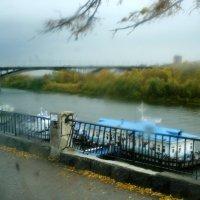 Дождливый день на Волге :: Николай Варламов