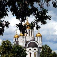 Храм-памятник в честь великомученика Георгия Победоносца :: Дмитрий Сопыряев