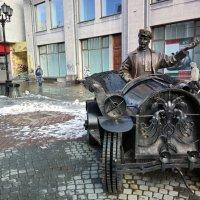 Памятник таксисту :: Сергей Журов