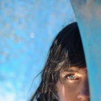 Лидия Кожевникова - Blue girl